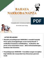 Bahaya Narkoba UPI