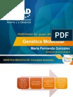 UNAD Genética Molecular Maria González