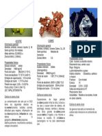 minerales modelos