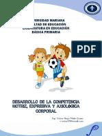 Desarrollo de La Competencia Motriz, Expresiva y Axiológica Corporal