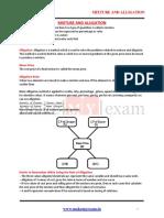 Mixture and Alligation.pdf
