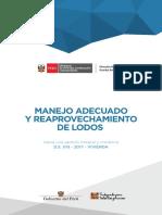 MANEJO ADECUADO Y REAPROVECHAMIENTO DE LODOS
