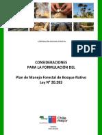 Consideraciones Formulacion PMFBN Version Enero 2018