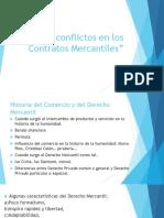 Los Conflictos en Los Contratos Mercantiles