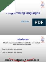 9 - Interfaces - JAVA