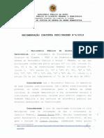 MPDFT recomenda que GDF revogue decreto que estabeleceu ponto facultativo