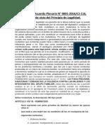 Comentario al Acuerdo Plenario N°1- 2016