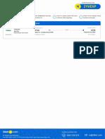 Flight E-ticket - Order ID 68829384 - 25032019