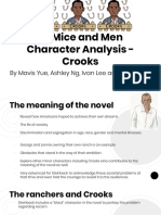 crook s character analysis