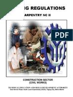 Carpentry NC II