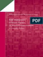 Risk Management in Islamic Finance