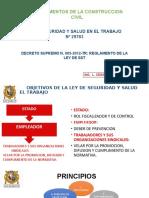 Ley 29783 y Reglam.fundamentos de Construccion Civil