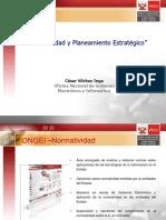 Gobierno Electronico Normatividad y Planeamiento Estratégico