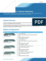 Huawei S6720-LI Series Switches Product Brochure