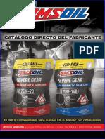 Amsoil Spanish Catalog Ordering - Catalogo Directo Del Fabricante