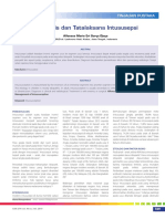 Diagnosis Dan Tatalaksana Intususepsi