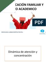 Comunicacion Familiar y Rendimiento Academico