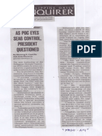 Philippine Daily Inquirer, June 20, 2019, As POC eyes seag control president questioned.pdf