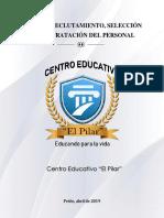 Guía de Reclutamiento - Colegio El Pilar