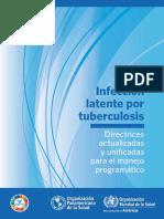 Infección Latente Por Tuberculosis_OMS