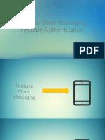 Firebase authetication y push notification