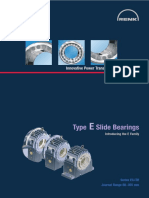 RENK Slide Bearings Type E-Series EG ER
