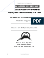 Chapter 1 Mental Game of Football