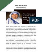 Bio Madre Teresa de Calcuta Agosto 18