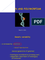 Mutation and Polymorphism