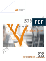 ISO 9001:2015 QMS Foundation Course