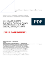 [2019 CASE DIGEST] Evangeline Patulot vs. People of the Philippines G.R. No. 235.pdf