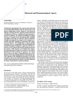 The Concept of Psychosis - Historical and Phenomenological Aspects