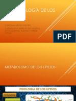 Fisiopatología de Los Lípidos 2019