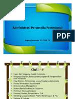 Administrasi Personalia Profesional
