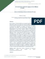 Avances Clínicos de Teoría Del Vínculo de Apego en Los Últimos __25 Años