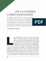 Guerra como genocidio (Elorza)