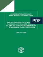 Normas Internacionales Para Medidas Fitosanitarias