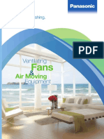 Panasonic Ventilating Fans & AirMoving Equipment