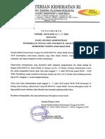Pengumunan Seleksi Administrasi Tenaga Non PNS Sem I TA 2018
