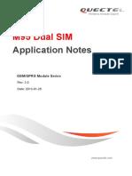 M95 Dual SIM Application Notes V3.0