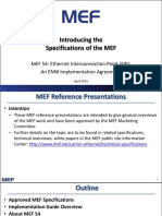 Overview of MEF 54