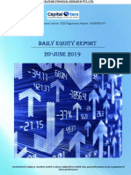Daily Equity Reports 20 June 2019
