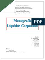 Monografia de Liquidos Corporales. Fisiologia. Secc 2A