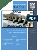 DISEÑO BOCATOMA HIDRAULICA