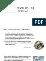 10. Spherical Roller Bearing