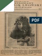 Ilustrowany Dziennik Lwowski, 1928m No. 4