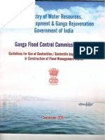 Guidelines on Use of Geotextiles in Flood Management Works