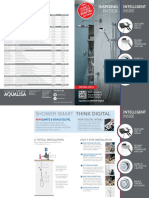 AQUALISA Quartz and Visage Digital Showers - Features Brochure