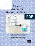 Virginia Rainwater Harvesting Manual