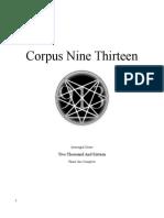Corpus Nine Thirteen